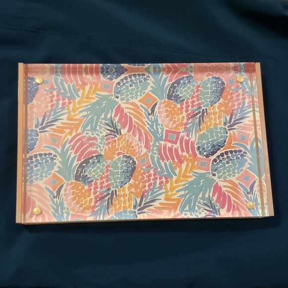 Lilly Pulitzer Picture Frame 4 X 6 Pineapple